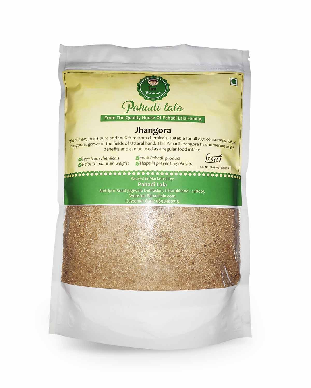 Jhangora Millets| Barnyard Rice | Sanwa Millets Packet of 5Kg